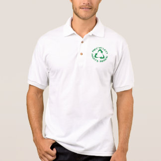 Recycled Parts Inside Polo Shirt