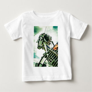 Recycled Robot Baby T-Shirt