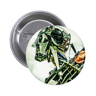 Recycled Robot Buttons