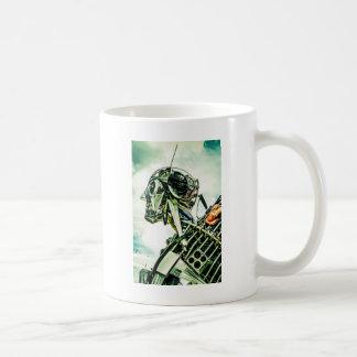 Recycled Robot Coffee Mug