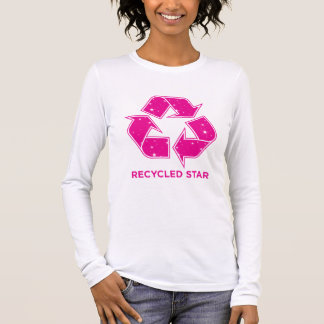 Recycled Star Long Sleeve T-Shirt