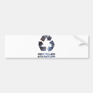 Recycled Star Stuff Bumper Sticker