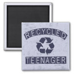 Recycled Teenager Fridge Magnets