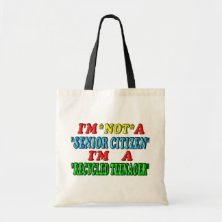 Recycled Teenager Tote Bag