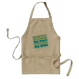 Recycled Wife Aprons