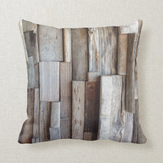 Recycled Wood Panel Pillow