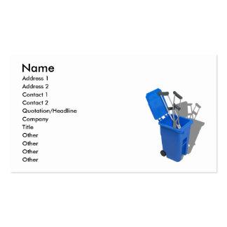 RecycledCrutches082010, nombre, dirección 1, Tarjetas De Visita