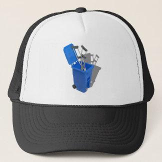 RecycledCrutches082010 Trucker Hat