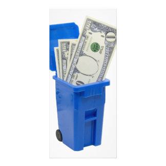 RecycleNoMoney053109 Rack Card Template