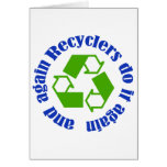 Recyclers do it card