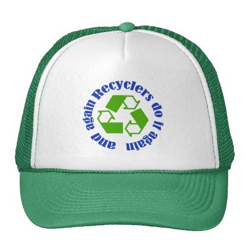 Recyclers do it trucker hat
