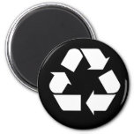 Recycling 2 Inch Round Magnet