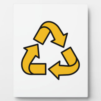 Recycling Arrows Plaque