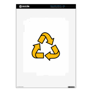 Recycling Arrows Skin For iPad 2