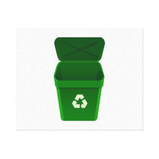 Recycling Bin Canvas Prints