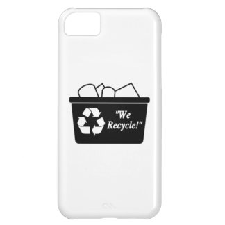 Recycling Bin Cover For iPhone 5C