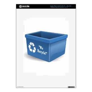 Recycling Bin iPad 3 Skin