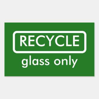 Recycling Bin Label Template Sticker