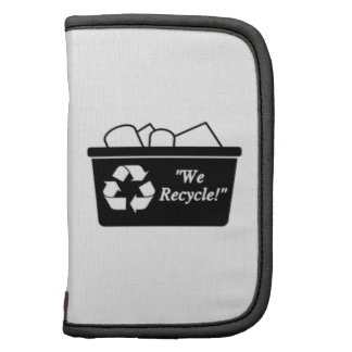 Recycling Bin Folio Planner