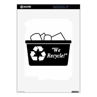 Recycling Bin Skin For iPad 2