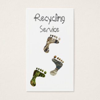 Recycling Business Card