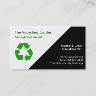 Reuse recycle business cards zazzle recycling business cards colourmoves