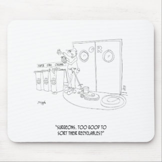 Recycling Cartoon 9265 Mouse Pad