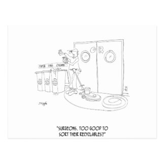 Recycling Cartoon 9265 Postcard