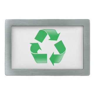 Recycling CLASSIC RECYCLE SYMBOL Belt Buckle