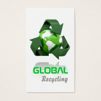 Recycling Company Business Card