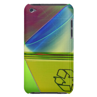 Recycling concept barely there iPod cases