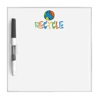 Recycling Dry Erase Board