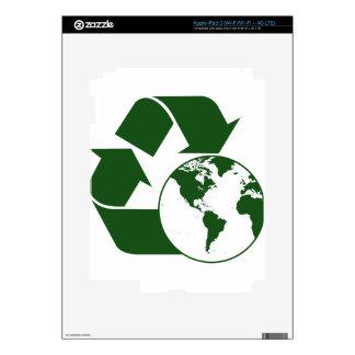 recycling iPad 3 skin