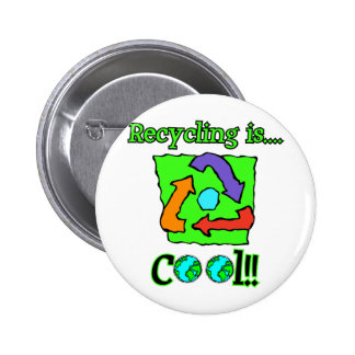 Recycling is Cool Pins