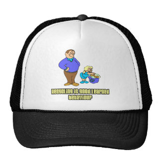 Recycling is Good Learned Behaviour Mesh Hat