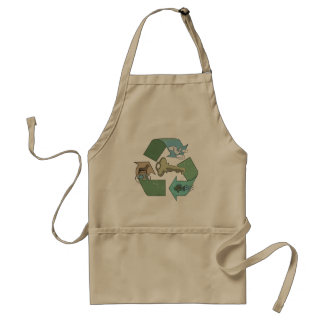 Recycling is Key Earth Day Gear Apron