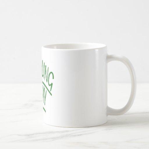 Recycling Is Sexy Classic White Coffee Mug