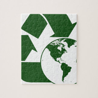 recycling jigsaw puzzle