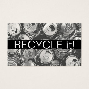 Recycle metal business cards templates zazzle recycling junk scrap metal removal business card reheart Gallery