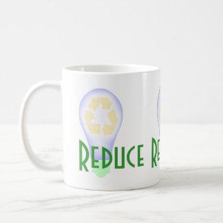 Recycling Light Bulb Classic White Coffee Mug
