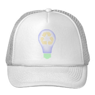 Recycling Light Bulb Trucker Hat