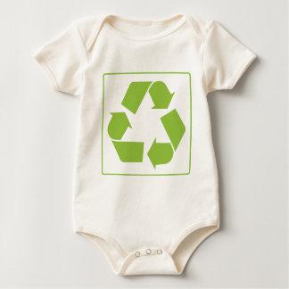Recycling Logo Baby Bodysuit