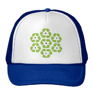 Recycling Logos Trucker Hat