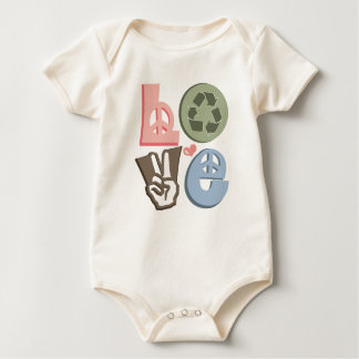 Recycling Love Recycle Organic Baby Bodysuit