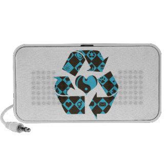 Recycling Love Laptop Speaker