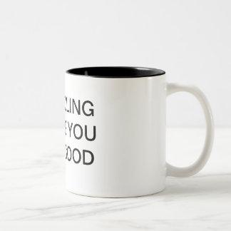 Recycling makes you feel good mug