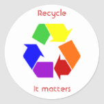 recycling matters stickers