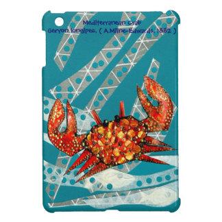 Recycling Mediterranean Crab iPad Mini Cover