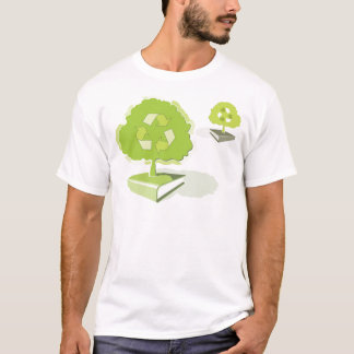Recycling paper! Save trees! T-Shirt