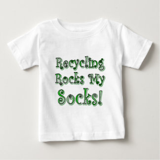 Recycling Rocks My Socks Baby T-Shirt